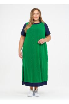 """Платье """"Её-стиль"""" 110200110 ЕЁ-стиль (Зелёный)"""