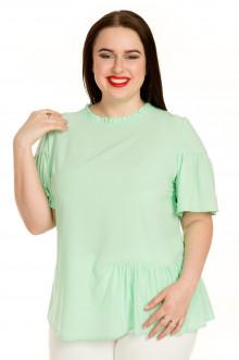 Блузка 726 Luxury Plus (Светло-зеленый)