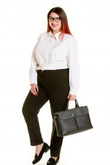 Блузка 522 Luxury Plus (Белый)