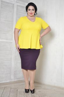 Блуза 096706 ЛаТэ (Желтый)