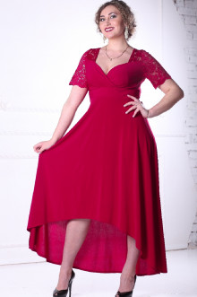 Платье 088804 ЛаТэ (Марсала)