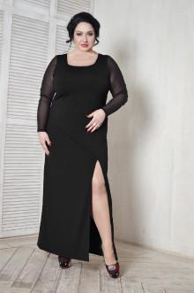 Платье 099701 ЛаТэ (Черный)