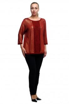"""Блуза """"Олси"""" 1810008/3S ОЛСИ (Красный блеск)"""